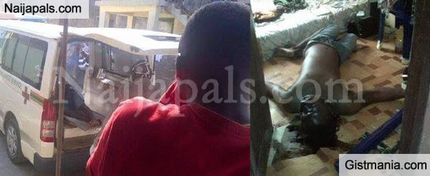 GRAPHIC PICS: FUTA Student Commits Suicide After Discovering He Will Be Having An Extra Year