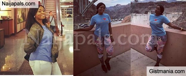 """I Will R*pe You One Day"" - Fan Threatens Actress Ufedo Sunshine Over Las Vegas Hotel Photos"