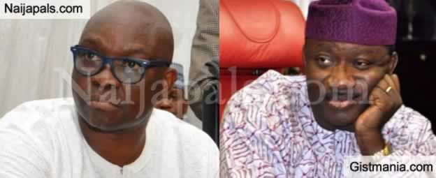 You Were Voted To Do What I Couldn't, Stop Complaining – Ekiti Ex-Gov, Fayose Tells Fayemi