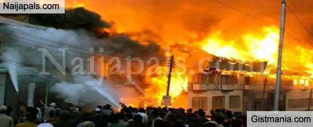 Three Prostitutes Die In Fire Outbreak In Nnewi, Anambra State