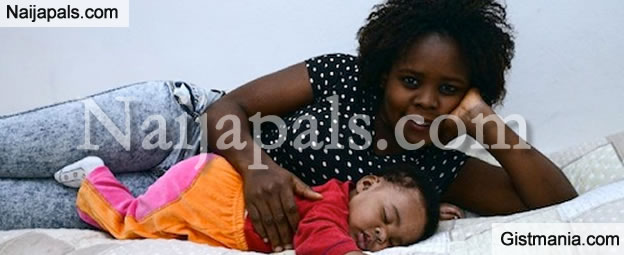 Meet Baby Francesca, The Baby Born By Nigerian Migrant During Rescue Operation On the Sea