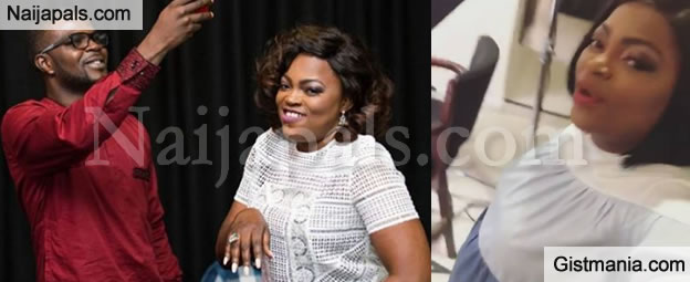 Actress, Funke Akindele Bello Finally Speaks Out On The Birth Of Her Twins In London