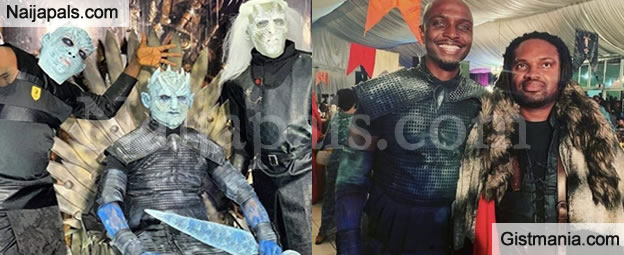 More Photos From IK Osakioduwa's Games of Thrones Themed 40th Birthday Party