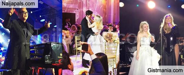 Russian Billionaire Spends £3.5million Hiring Sir Elton John & Mariah Carey For His Granddaughter's Wedding