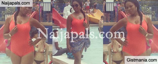PHOTOS: Actress Georgina Onuoha Displays Her Hot, Sexy Body In Swimwear