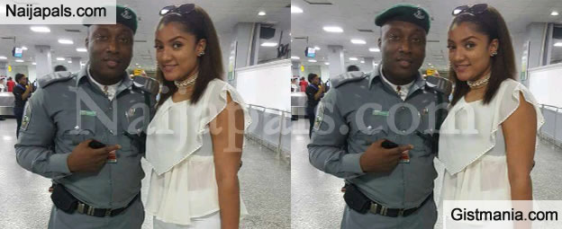 #BBNaija: First Adorable Photo Of Gifty Outside The Big Brother House