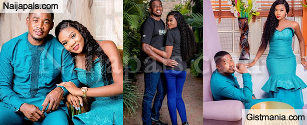 Check Out Adorable Pre-wedding Photos Of Ex-Nigerian Beauty Queen, Glory Brown (PHOTOS)