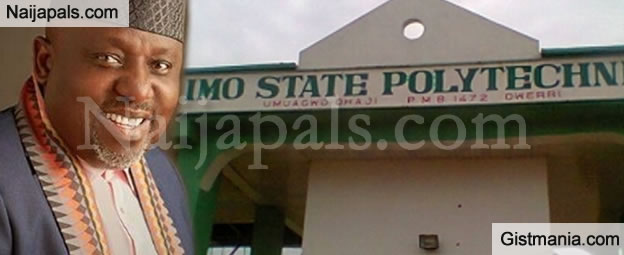 Governor Rochas Okorocha Announces Immediate Relocation Of Imo State Polytechnic