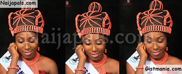 Nigerian Beauty Queen, Grace Okoro Publicly Disgraced Out Of Office & Dethroned (Photo)
