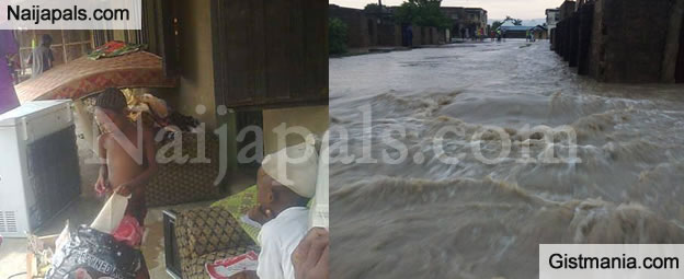 PHOTOS: See How Massive Flooding Hits Communities In Adamawa State