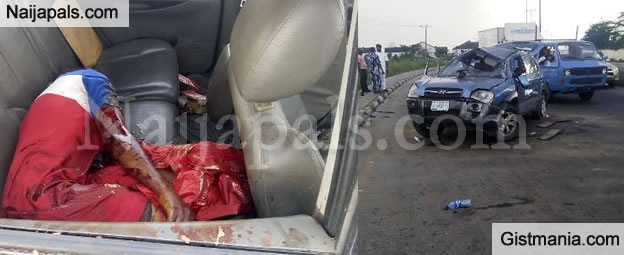 GRAPHIC WARNING: Horrific Photos From The Accident At Dalemo, Sango - Ota Yesterday