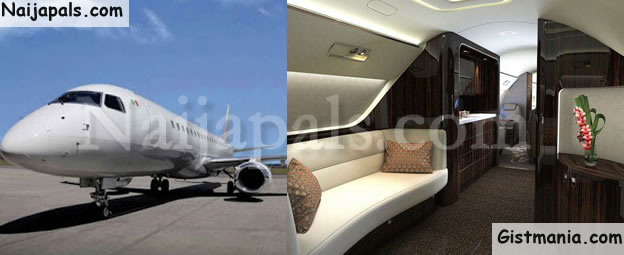 PHOTOS: Check Out How The Interior Of A N10.5 Billion Private Jet Looks Like