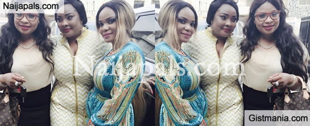 KUDOS: Actress Iyabo Ojo Launches 2nd Phase Of Beauty Parlour Yesterday