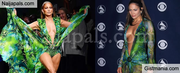PHOTOS: Jennifer Lopez Revives Iconic 2000 Grammys Jungle Dress That Inspired Creation Of Google Images