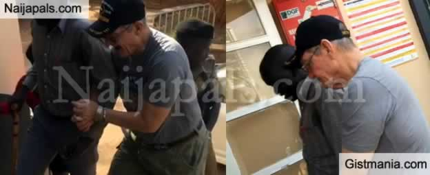 Racist White Pastor, Jimmy L. Taylor Arrested In Ugandan For Assaulting Hotel Staff (Video)
