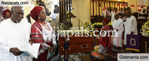 FARE WELL: Check Out Photos From Joke Silva's Mom's Funeral Service (Photos)