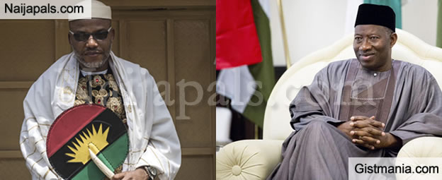 Jonathan Was A Weak President, His Wife Patience Would Have Been A Better President – Nnamdi Kanu