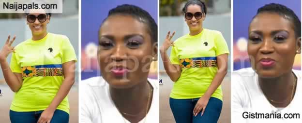 Nollywood Actress, Juliet Ibrahim Blasts Ghanian OAP Who Advised Her To Return To Her Ex Husband