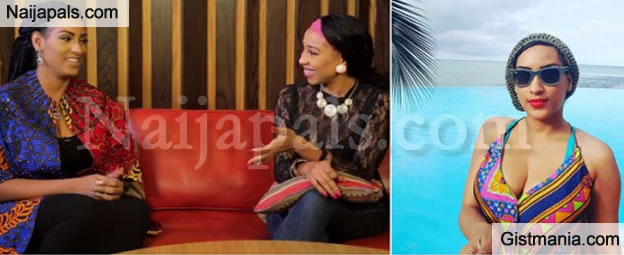 I've Had S*x At The Beach In The Presence Of Beach Goers - Actress Juliet Ibrahim Reveals (Watch)
