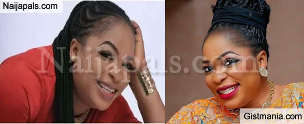VIDEO: Actress Kemi Afolabi Gets Into a Shouting Match With a Motorist That Bashed Her Car