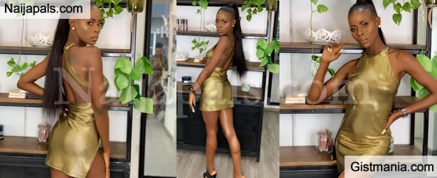 BBNaija's Khloe Flaunts Her Assets In Sexy Skimpy Outfit (PHOTOS)