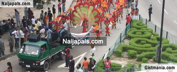The Lagos Carnival 2014 In Pictures