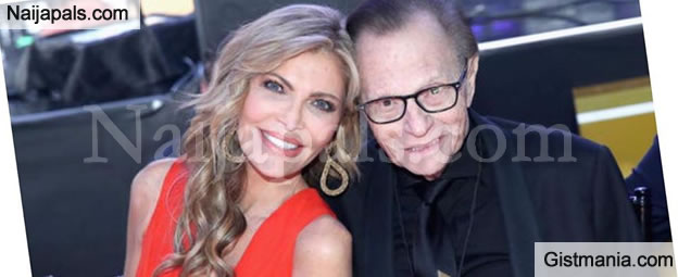 Larry King Files For Divorce From His 7th Wife, Shawn After 22years Of Marriage