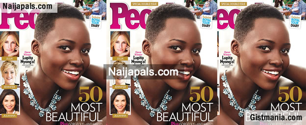 Lobatan! Lupita Nyong'o Is The Most Beautiful Woman On Earth - Peoples Magazine