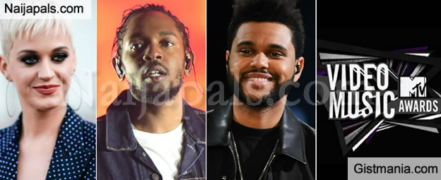 Kendrick Lamar, Katy Perry & The Weeknd Top Nomination List for MTV VMAs 2017, See Full List