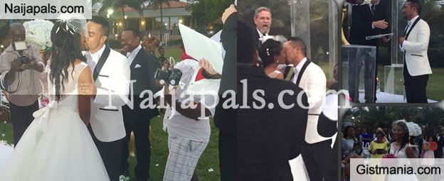 Michel Majid and Wife Virna Renew Wedding Vows 10 Years After Wedding (Photos + Video)