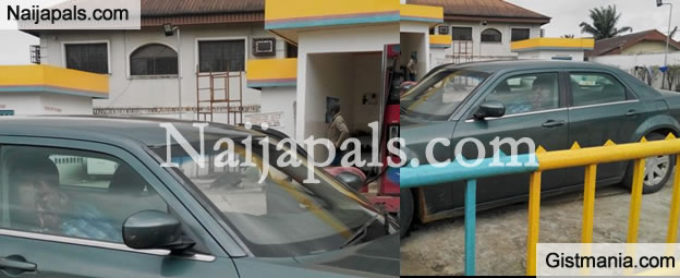 Man Killed By Suspected Hired Assasins This Afternoon At Sobaz Filling Station, In PH (Photos)