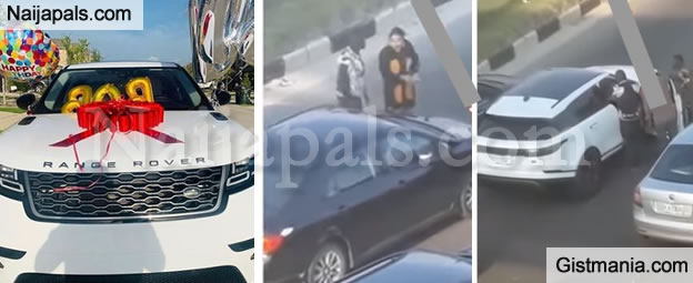 Update On Bobrisky's Street Fight! Driver Shares His Side of The Gist As He's Being Jailed(VID)