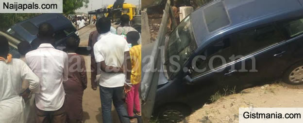 Man Teaches Daughter How To Drive, Check Out What Happened Next (Photos)