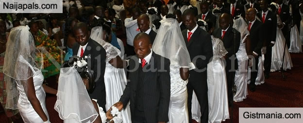 Photos From The Mass Wedding Of 109 Couples In Nasarawa State Today