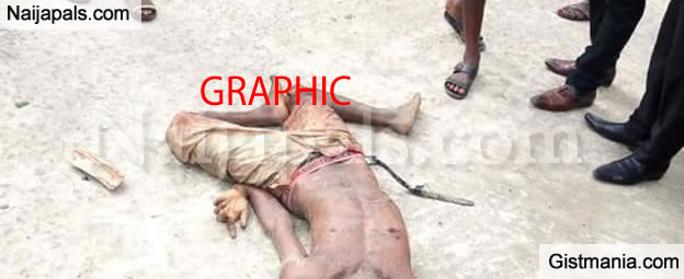 Angry Mob Kills Two Suspected Armed Robbers In Bayelsa State (GRAPHIC)