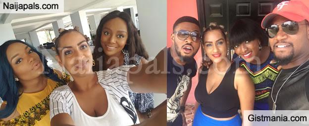 PHOTOS: Nigerian Team Arrives Ghana Ahead Of Juliet Ibrahim Foundation Female Celebrity Match