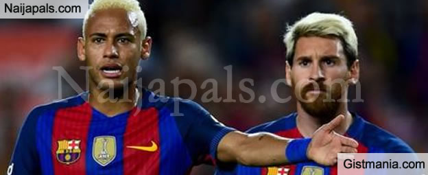 Neymar Beats Messi To Become The Most Valuable Player In Europe. Checkout The Full List