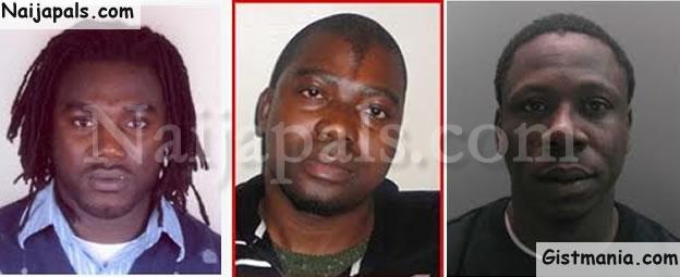 Sambo, Ibekwe, Obinna,Olutayo  - List Of Most Wanted Nigerian Criminals In The UK - Photo