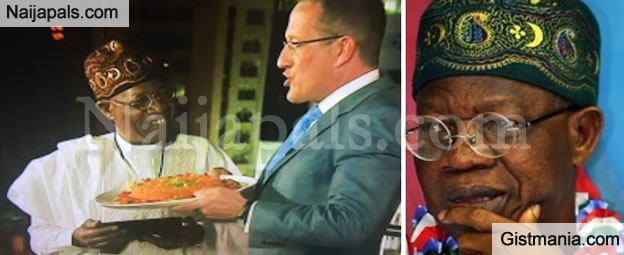 Nigerians Blast Lai Mohammed For Saying Senegal Makes The Best Jellof Rice When Asked On CNN (Pics)