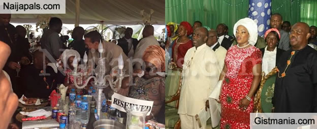 PHOTOS: Patience Jonathan, Peter Odili, Other Dignities Attend Nyesom Wike's Thanksgiving Service