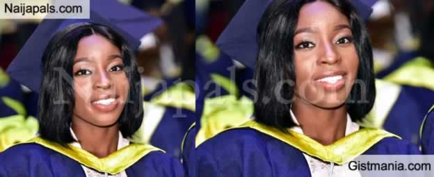 Computer Scientist, Ofure Mary Ebhomiele Emerges As Best Graduating Student From UI