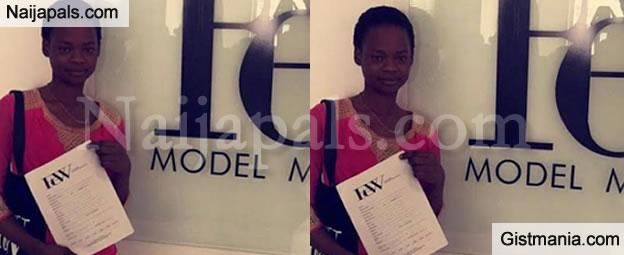 Olajumoke Orisaguna, The Agege Bread Seller Finally Signs A Modelling Contract!