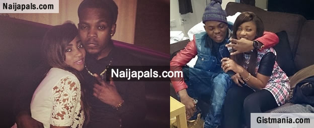 So Sweet! Olamide takes his boo to the UK