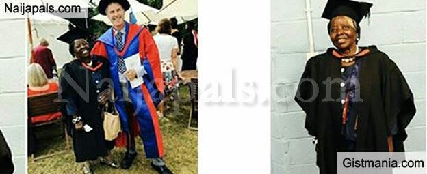 Lady Claims Her 74 Year Old Grandma Graduates With A First Class