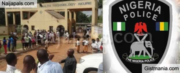 3 Students Of the School of Health And Technology In Ondo State's Arrested For Gang-molesting Mate