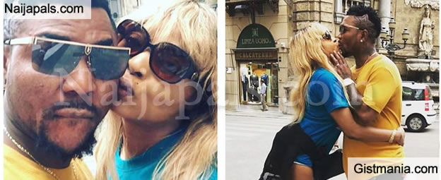 Check Out Beautiful Photos Of Oritsefemi And His Wife, Nabila Fash On Baecation In Italy - PICS