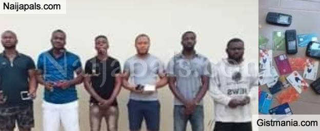 EFCC Arrests Prison's Officer, 5 Others For ATM Fraud