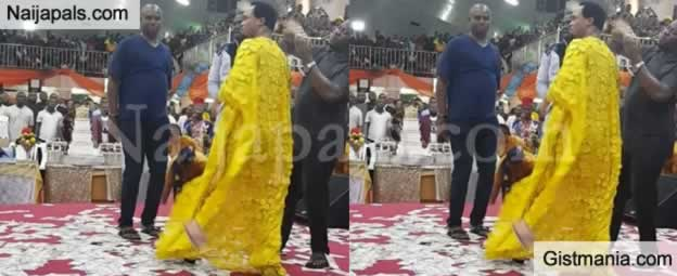 "VIDEO: Pastor Chukwuemeka Odumeje Slam Those Criticizing Him For Doing ""Wrestling Miracles"""