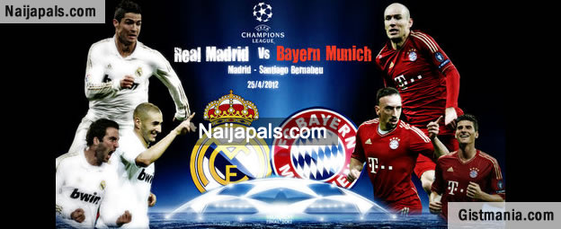 UEFA Champions League Semi-final : Real Madrid v Bayern Munich [23/04/2014]
