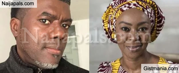 Reno Omokri Apologizes After Saraki's Wife, Toyin Ripped Him Apart For Picking On Her